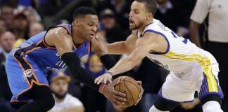 Stephen Curry and Russell Westbrook All-Star
