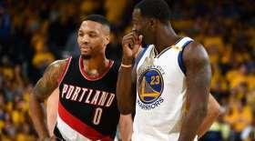 Portland Trail Blazers, Golden State Warriors, Draymond Green, Damian Lillard