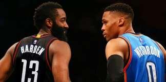 2017 All-NBA, Russell Westbrook, James Harden