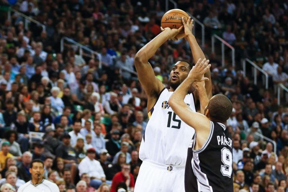 Derrick Favors, Utah Jazz