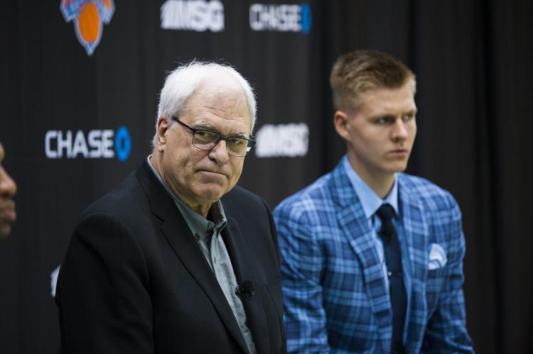 Knicks - Porzingis and Jackson