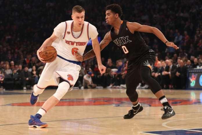 Kristaps Porzingis, Marqueese Chriss, Phoenix Suns, New York Knicks