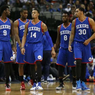 USP NBA: PHILADELPHIA 76ERS AT DALLAS MAVERICKS S BKN USA TX