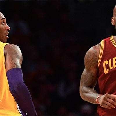 Kobe vs LeBron.