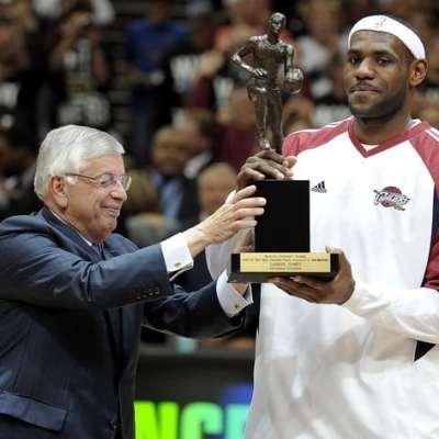 LeBron 2009 NBA MVP