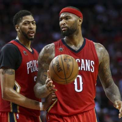 Anthony Davis and DeMarcus Cousins