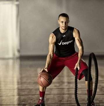 Stephen Curry Basketball Training