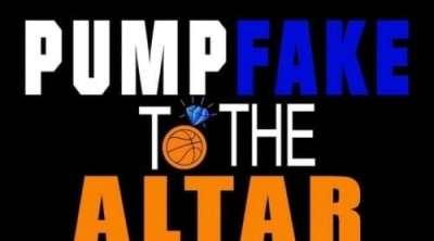 Pump Fake to the Altar NBA