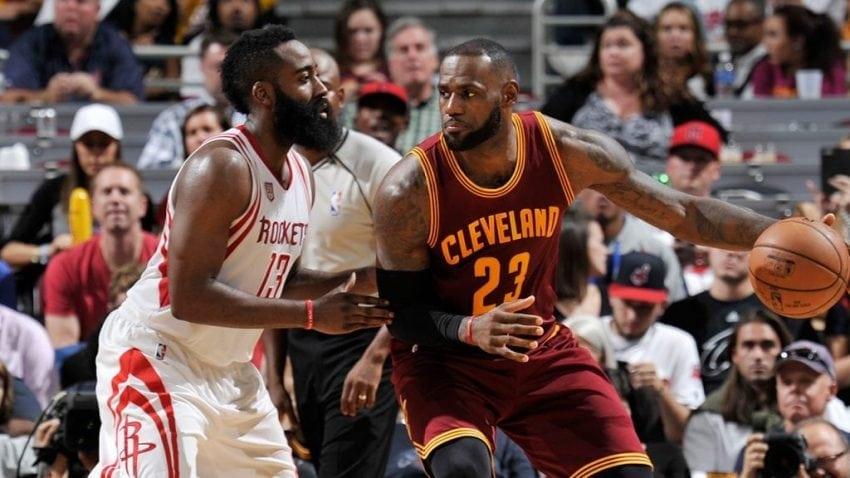 7152e3046e7 LeBron James  NBA season wasn t better than James Harden s says Houston  Rockets coach
