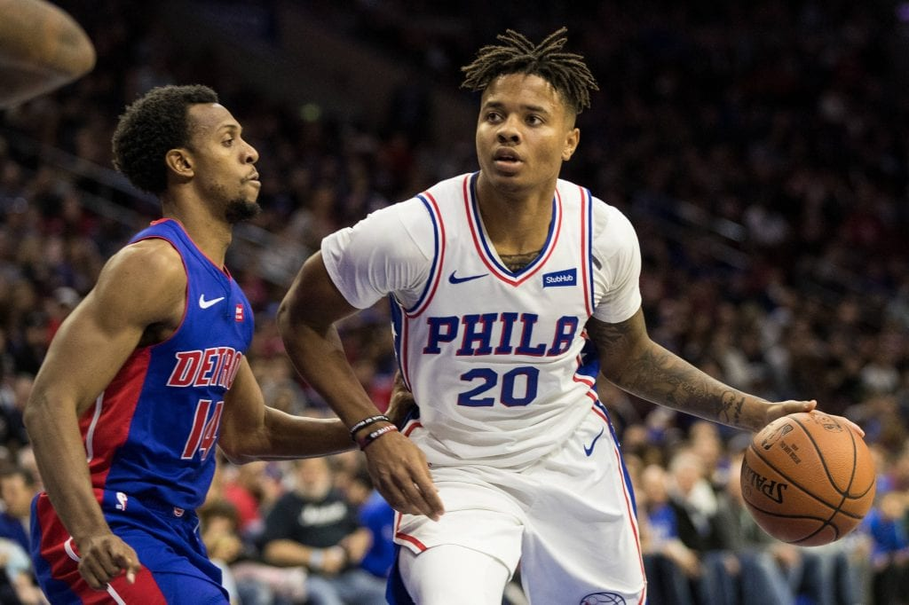 Markelle Fultz and Drew Hanlen seemed to have parted ways