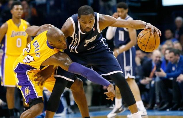 Kobe Bryant vs. Kevin Durant
