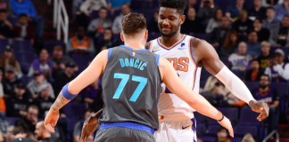 Luka Doncic and Deandre Ayton