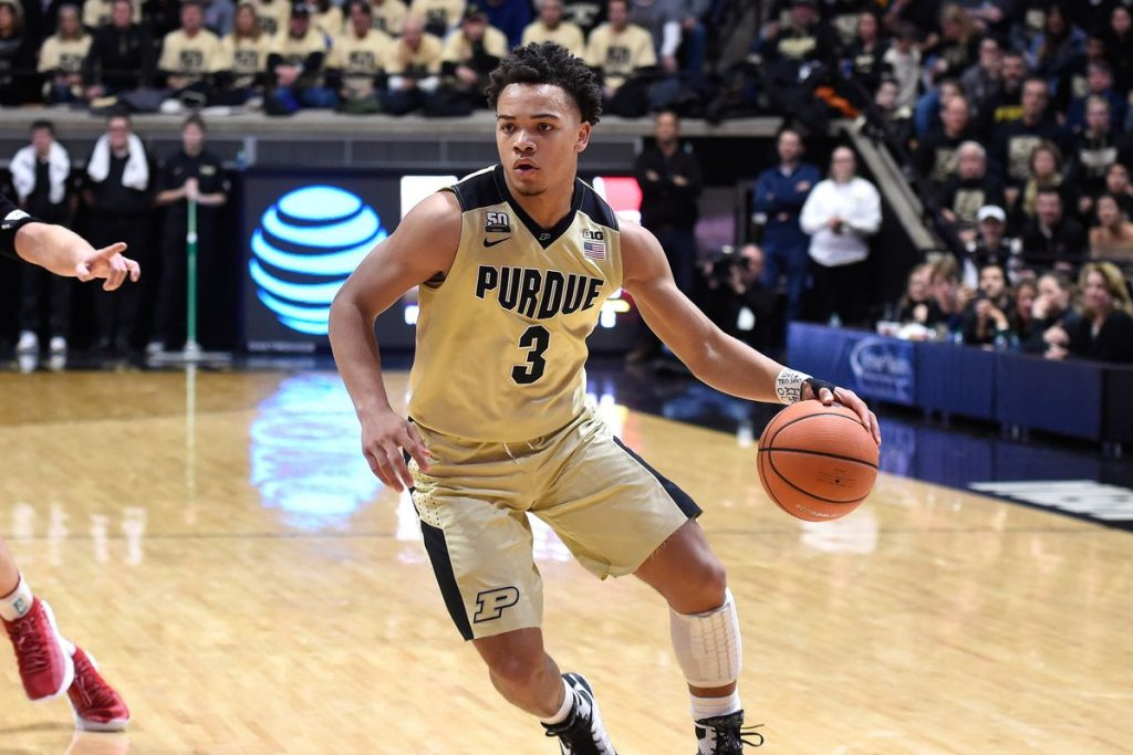 Carsen Edwards Scouting Report Nba Draft Basketball Society