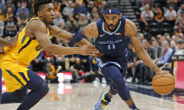 Utah Jazz Mike Conley and Donovan Mitchell