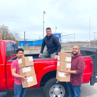 CovCare delivers masks to Fort Lee (NJ) Police Department