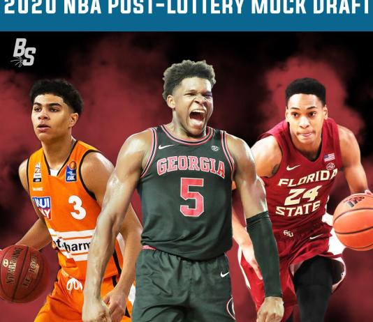 2020 NBA Post-Lottery Mock Draft