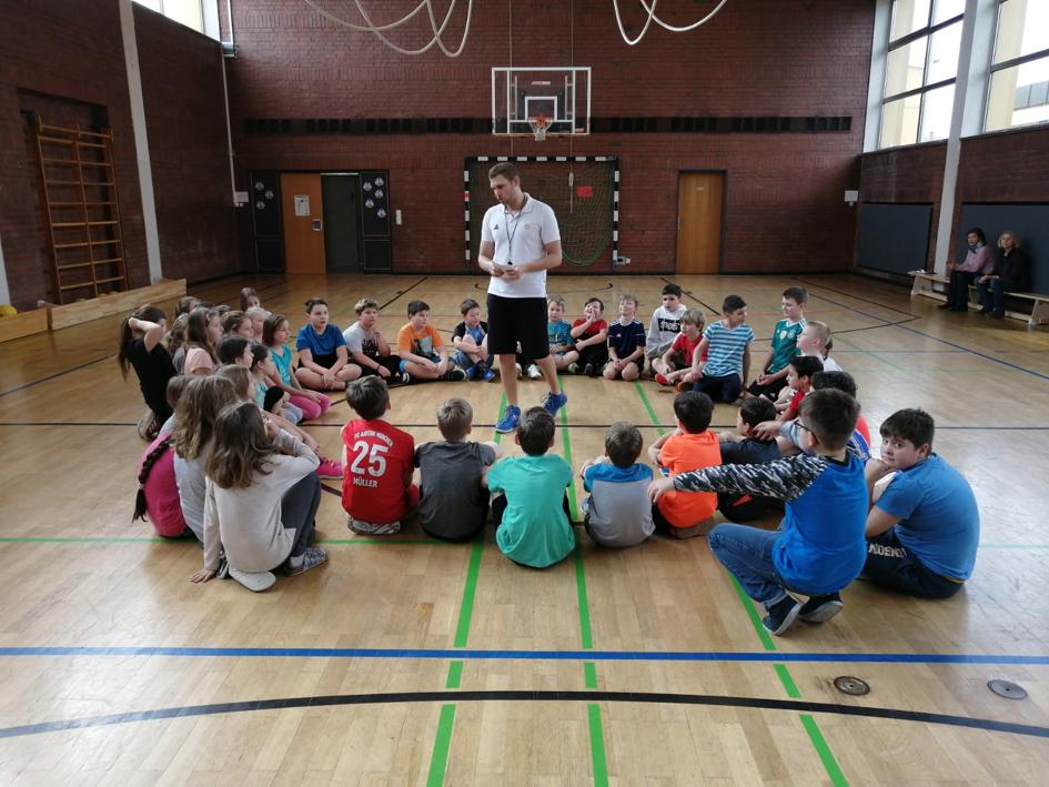 Schulaktionstag an der Rebühl-Grundschule in in Weiden