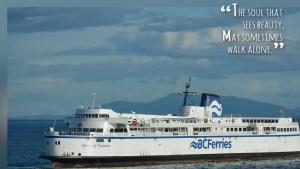 BC FERRIES trip HORSHOE BAY to Nanaimo
