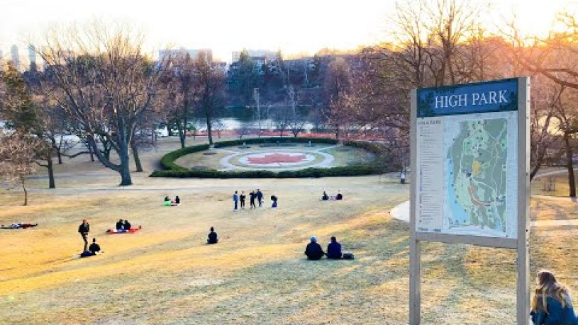 How Many Acres Is High Park Toronto