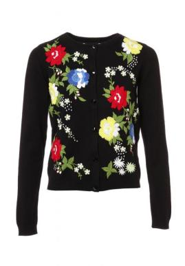alice olivia quinlan floral embroidery cardigan 60480