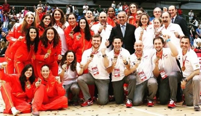 españa femenina - bronce eurobasket 15