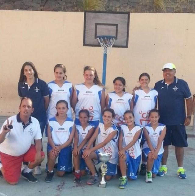 Tenerife Central - MINI campeón Torneo - 2