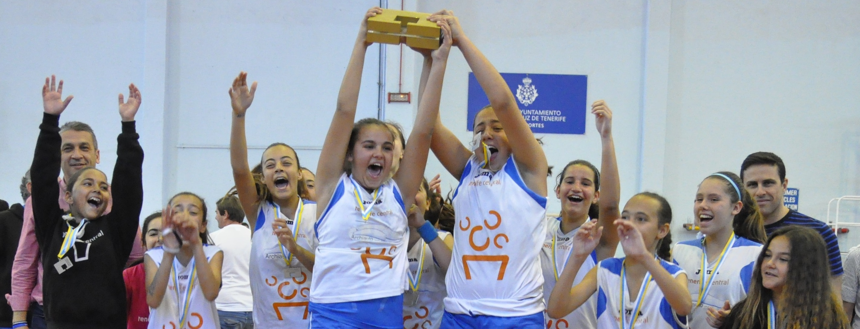 El Preinfantil Tenerife Central, campeón de Canarias
