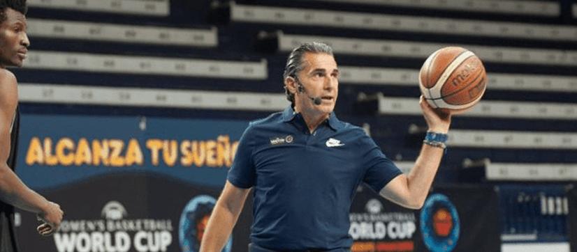 Más de medio centenar de entrenadores y entrenadoras asistieron al Clínic impartido por Sergio Scariolo y Gloria Estopa