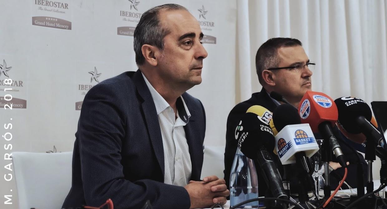 Vidorreta considera que Iverson tiene que asumir el liderazgo del juego interior del Cantera Base 1939 Canarias
