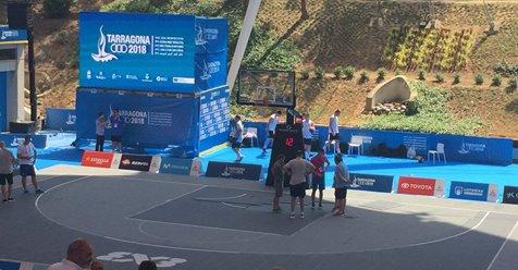 La pista de los Juegos del Mediterráneo se rompe y estropea el debut de Omeragic
