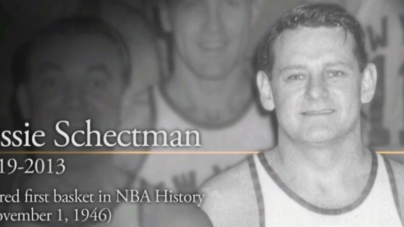 Hace siete años falleció Ossie Schectman, autor de la primera canasta de la historia del baloncesto profesional