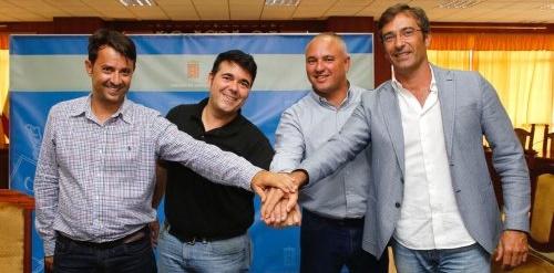 Conejero y Maramajo, sellan un convenio de vinculación para dos temporadas