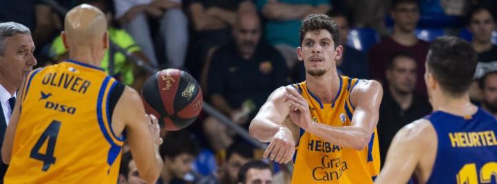 Un Barça muy superior gana con claridad al Granca en el primer partido de la ACB 18/19