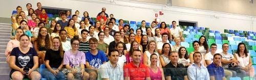 Bermúdez da la bienvenida a los voluntarios chicharreros de la Copa del Mundo de Baloncesto