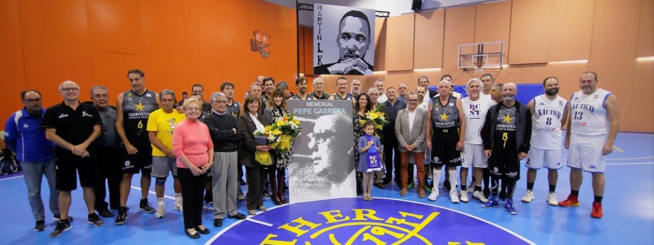 Cantera Base 1939 Canarias, Náutico de Tenerife y Luther King Laguna recuerdan a Pepe Cabrera