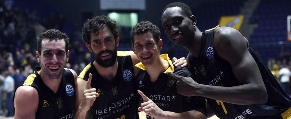 Sufrido triunfo aurinegro en Israel para certificar el primer puesto en la BCL