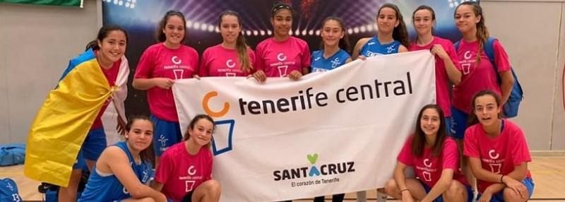 Victoria del Tenerife Central y derrota del Luther King en el arranque del Campeonato de España Infantil