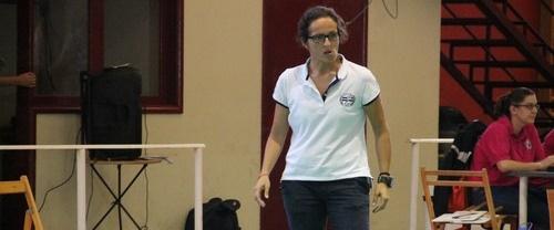 La palmera Raquel Padrón, preparadora física de la U18 femenina de España
