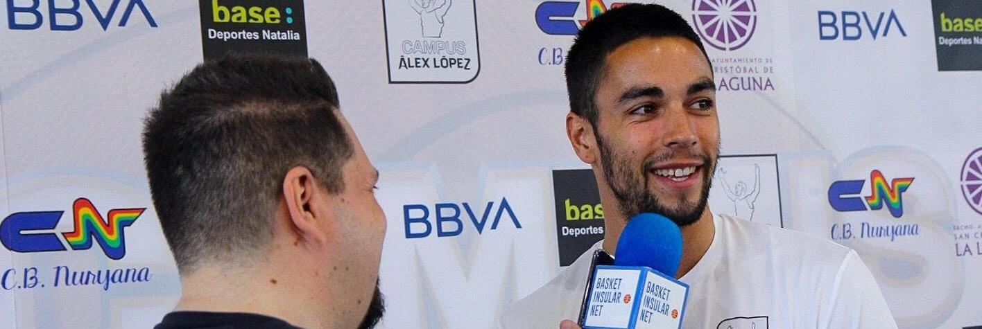 López, nuevo aurinegro: «Ya la ropa de abrigo la tengo para La Laguna»