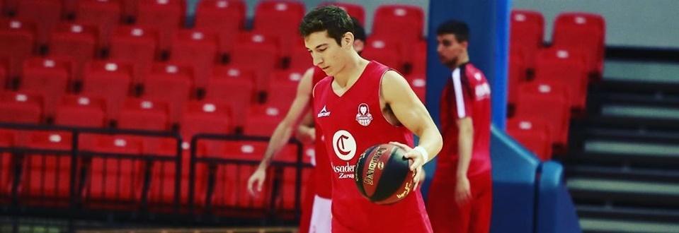 Nico Richotti hará la pretemporada con el Basket Zaragoza