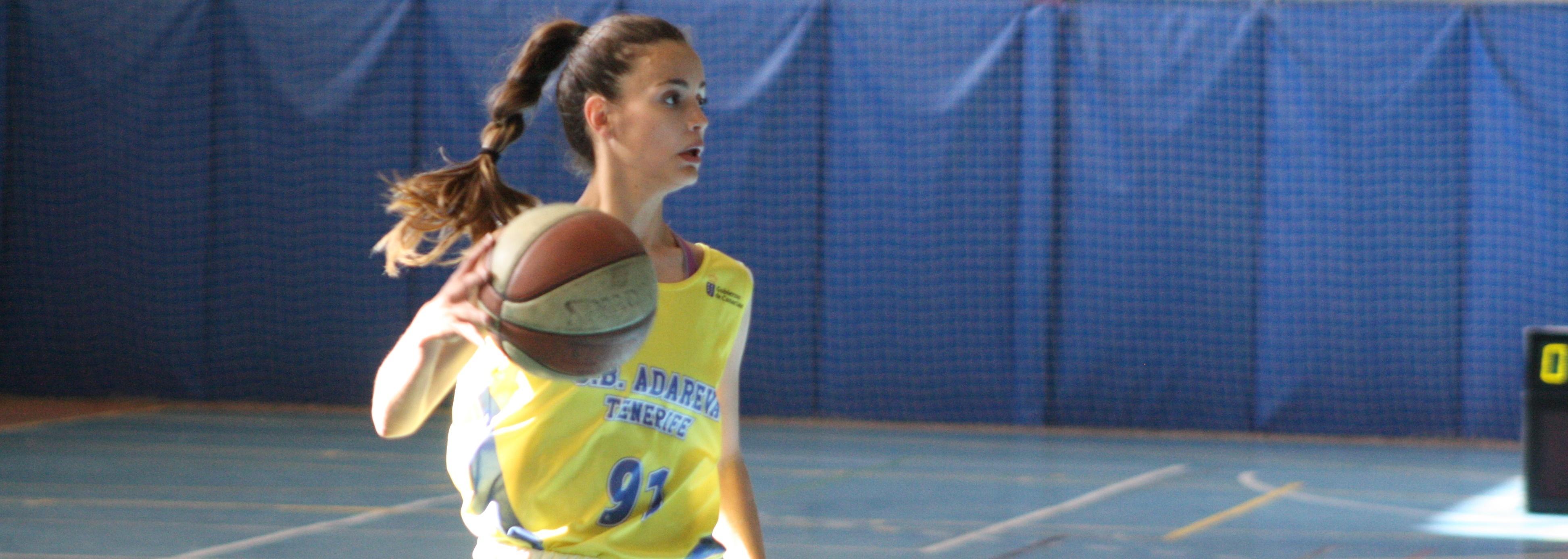 Alba Peña buscará el ascenso a Liga Femenina 2 con el Adareva