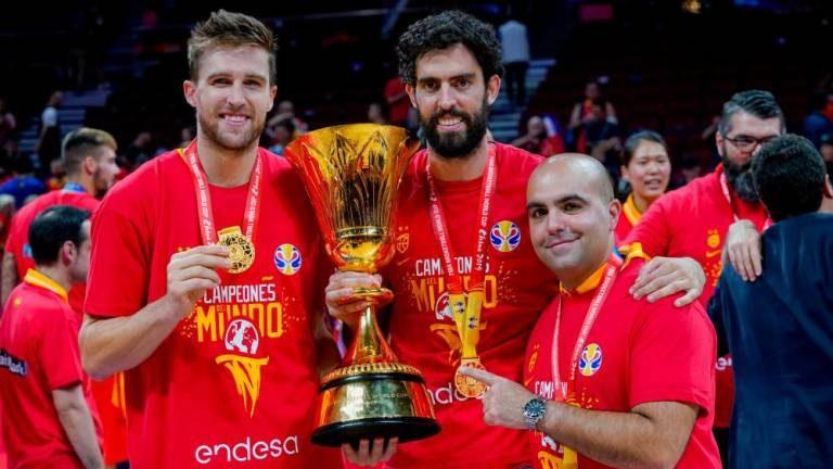 España, con Beirán, Rabaseda y García, gana su segundo Mundial de Baloncesto Masculino