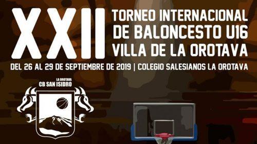 Este jueves comienza el XXII Torneo Internacional U16 Villa de La Orotava