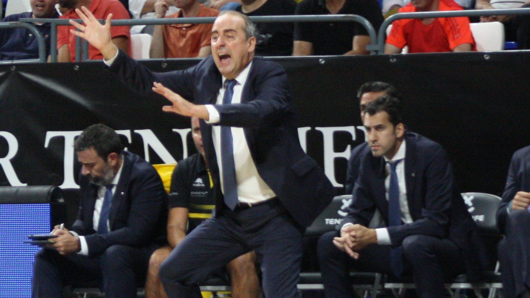 Vidorreta destaca la mala noche desde el triple y en defensa para explicar la derrota