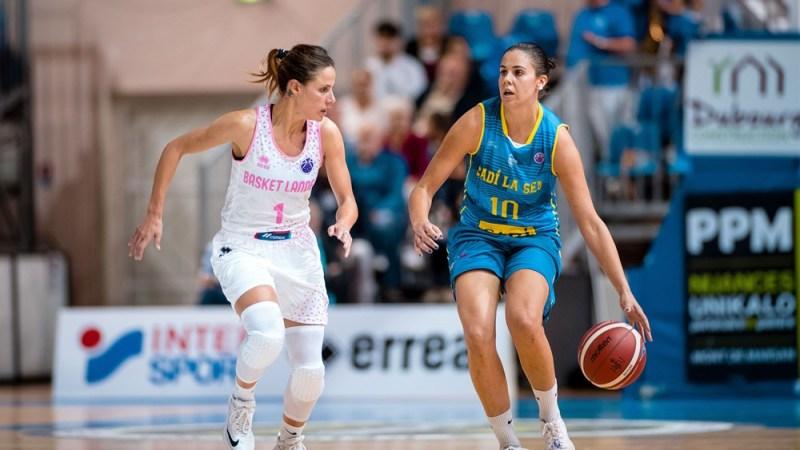 Mal debut para Yurena Díaz en la Eurocup Women