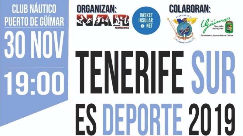 'NAR Promociones' y 'Basket Insular' organizan la Gala #TenerifeSurDeporte 2019