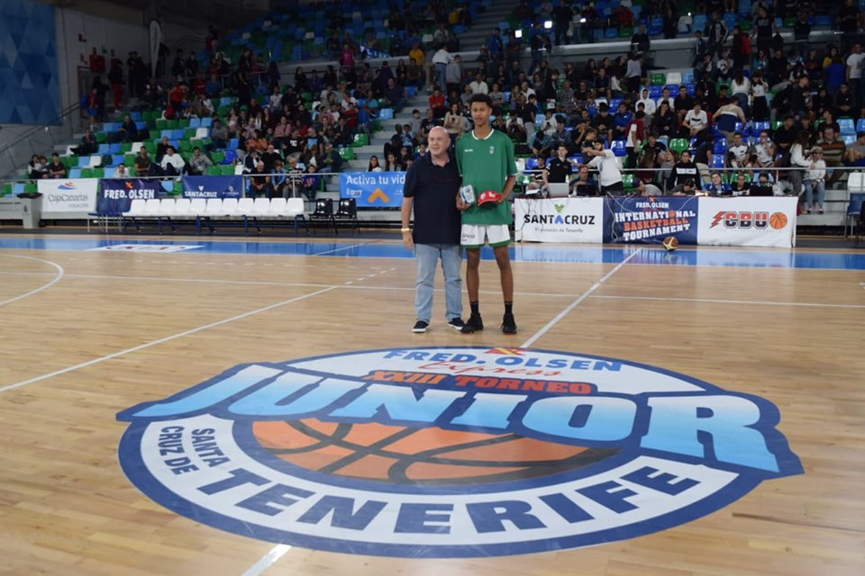 Joventut de Badalona acapara los concursos individuales del 'XXIII Fred Olsen Express International Basketball Tournament'