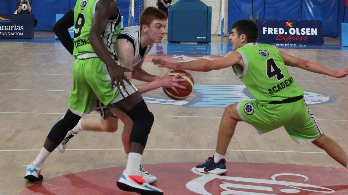 Nicola Giordano guía al Stellazzurra a su primer triunfo en el 'XXIII Fred Olsen Express International Basketball Tournament'