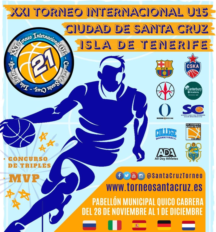 El CB Santa Cruz organiza una nueva edición de su Torneo Internacional U15