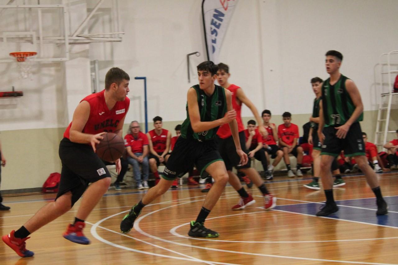 El Joventut exhibe su potencial en el 'XXIII Fred Olsen Express U18 International Basketball Tournament' y supera al Unelco